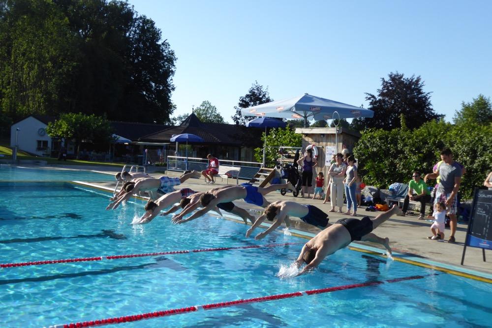 Triathlon und Go-Kart
