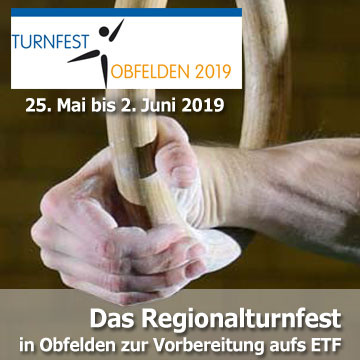 Das Regionalturnfest 2019 in Obfelden