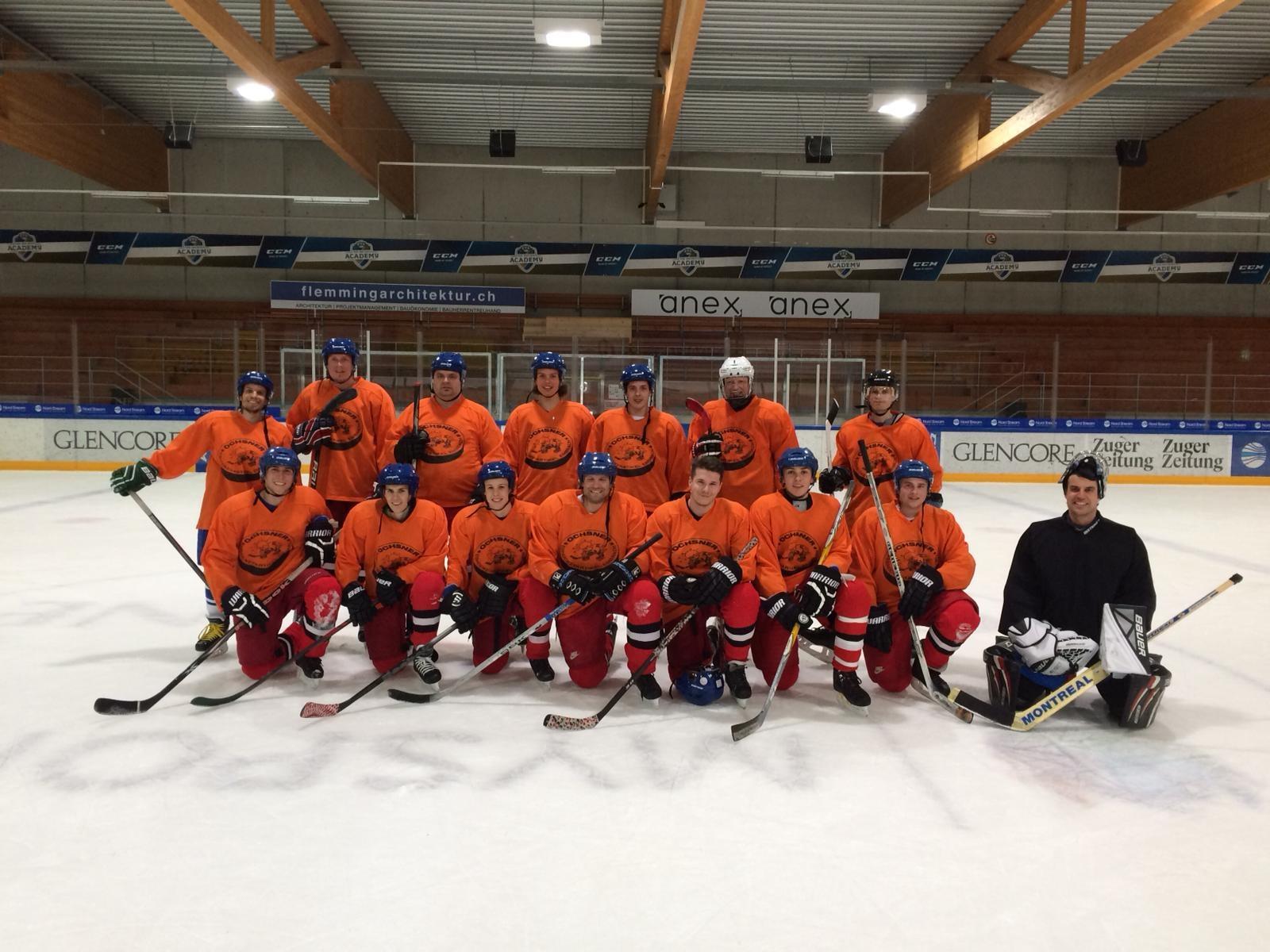 Niederlage im Eishockey gegen Mettmi