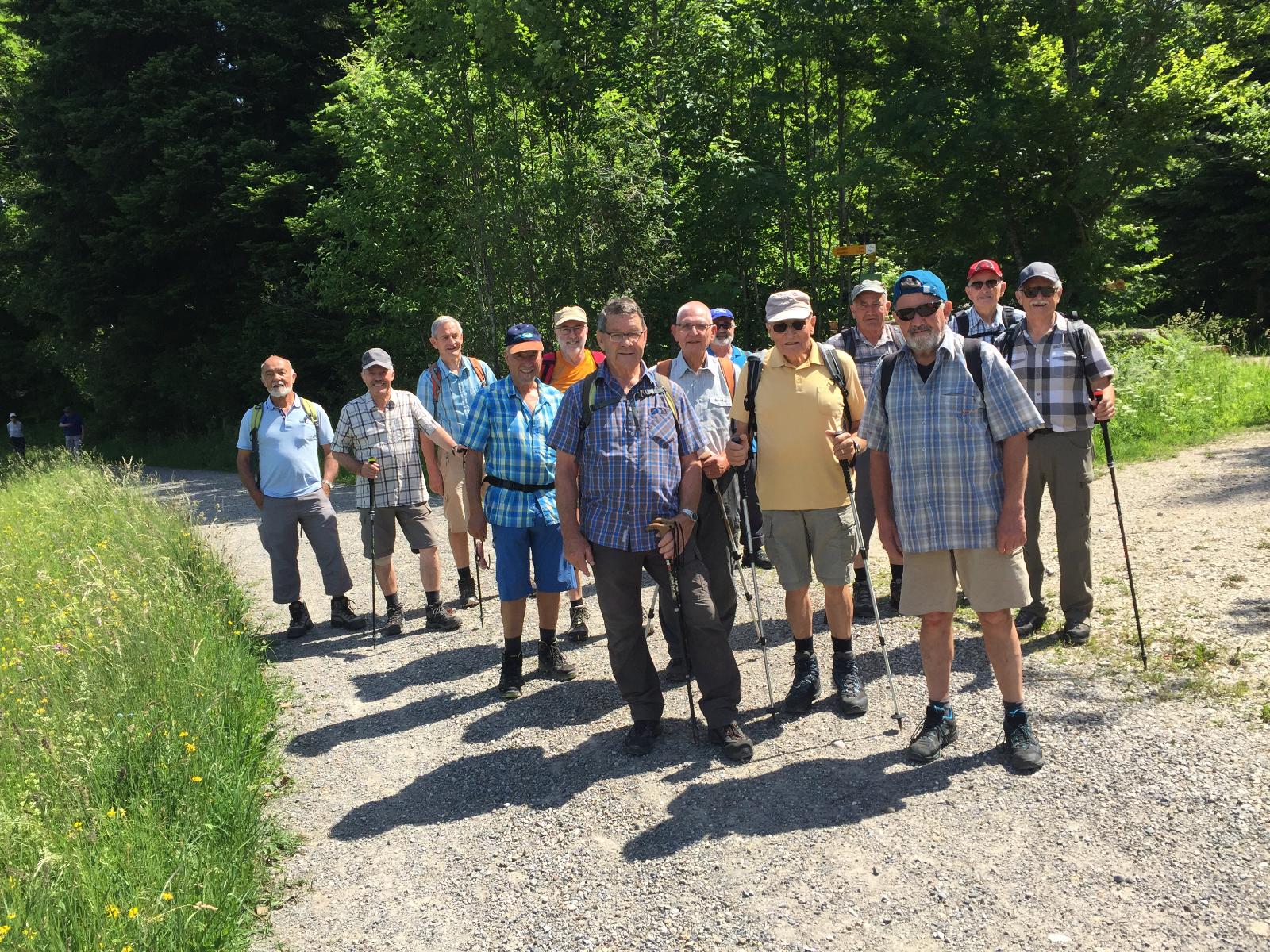 Wanderungen Turnveteranen April – Juni 2019