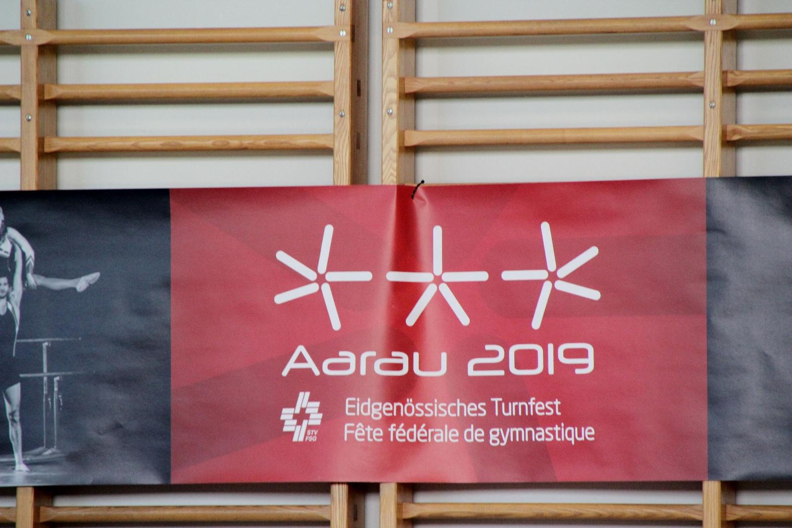 Erfolgreiche Geräteturner am ETF-Einzel in Aarau