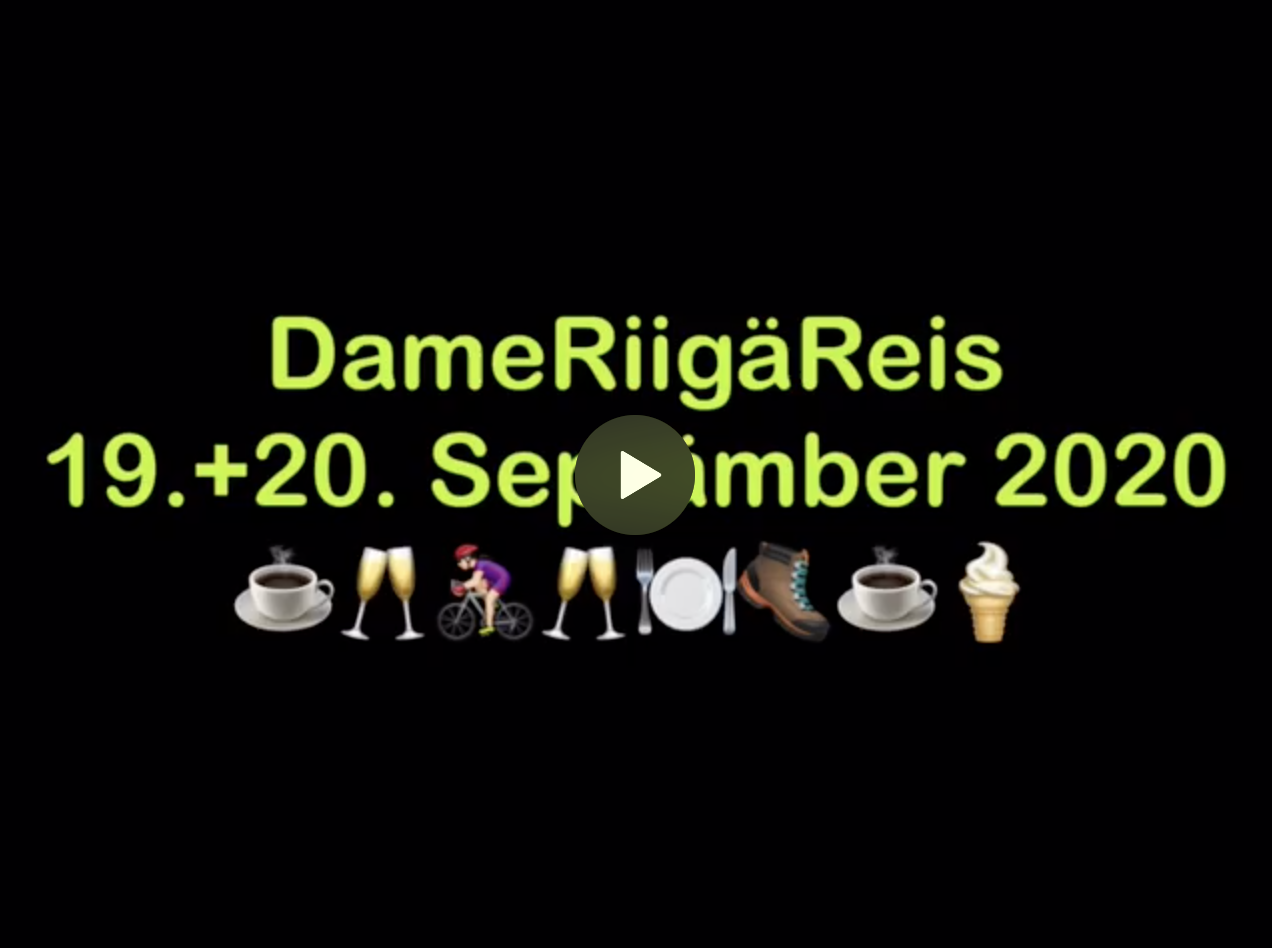 Damenriegenreise vom 19. + 20. September 2020