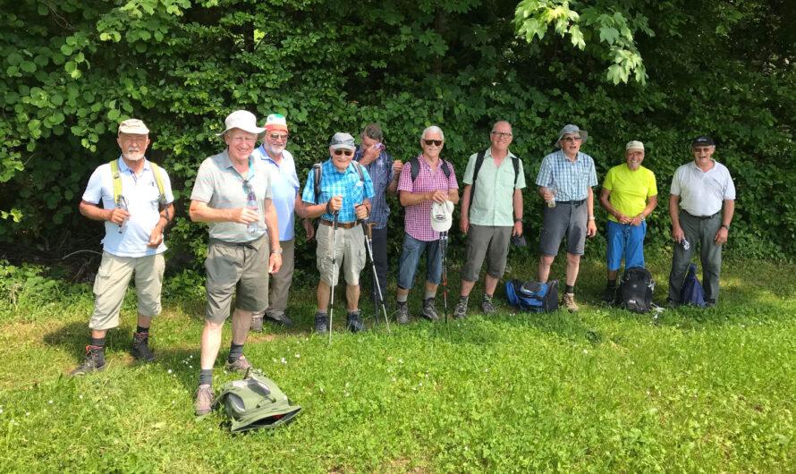 Turnveteranen-Wanderung vom 16. Juni 2021
